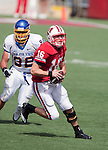 Wisconsin Badgers quarterback Scott Tolzien (16) carries the ball during an NCAA college football game against the San Jose State Spartans on September 11, 2010 at Camp Randall Stadium in Madison, Wisconsin. The Badgers beat San Jose State 27-14. (Photo by David Stluka)