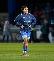 4th January 2020; RDS Arena, Dublin, Leinster, Ireland; Guinness Pro 14 Rugby, Leinster versus Connacht; Joe Tomane of Leinster warms up prior to kickoff - Editorial Use