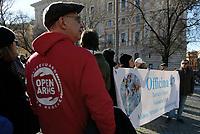 Aprite i porti, manifestazione a Roma