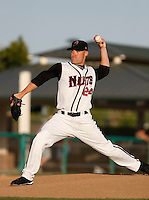Greg Smith  -  2009 Modesto Nuts pitching in a rehab appearance against the Visalia Rawhide at John Thurman Field, Modesto, CA - 05/19/2009. Smith is with the major league Colorado Rockies..Photo by:  Bill Mitchell/Four Seam Images