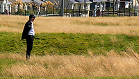 Aidan Connaughton (Sponsor: AIG) watching the play on the 5th during Matchplay Final of the AIG Irish Amateur Close Championship 2019 in Ballybunion Golf Club, Ballybunion, Co. Kerry on Wednesday 7th August 2019.<br /> <br /> Picture:  Thos Caffrey / www.golffile.ie<br /> <br /> All photos usage must carry mandatory copyright credit (© Golffile | Thos Caffrey)