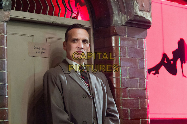 Legend (2015) <br /> Christopher Eccleston<br /> *Filmstill - Editorial Use Only*<br /> CAP/NFS<br /> Image supplied by Capital Pictures