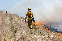 63863-02807 Prescribed Burn by IDNR Prairie Ridge State Natural Area Marion Co. IL
