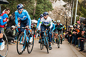 25th March 2018, Barcelona, Spain; Volta a Catalunya 2018 Cycling, Stage 7; Alejandro Valverde of Movistar TEAM during the stage 7 of la Volta Catalunya
