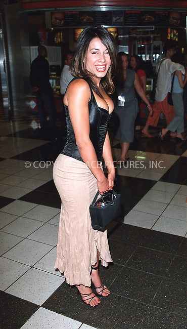 "Actress Delilah Cotto at the opening of the 3Rd Annual New York International Latino Film Festival and the premiere of ""Empire."" New York, July 31, 2002. Please byline: Alecsey Boldeskul/NY Photo Press.   ..*PAY-PER-USE*      ....NY Photo Press:  ..phone (646) 267-6913;   ..e-mail: info@nyphotopress.com"
