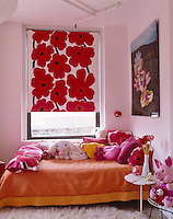 Marimekko prints have been used to bring colour and pattern into this child's bedroom