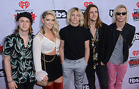 R5 @ the 2016 iHeart Radio Music awards held @ the Forum.<br /> April 3, 2016