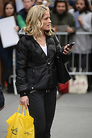 www.acepixs.com<br /> January 12, 2017 New York City<br /> <br /> Sara Haines after taping The View on January 12, 2017 in New York City.<br /> <br /> Credit: Kristin Callahan/ACE Pictures<br /> <br /> <br /> Tel: (646) 769 0430<br /> e-mail: info@acepixs.com