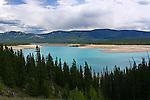 Abraham Lake, Jasper National Park, Alberta, Canada