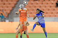 Houston, TX - Saturday July 22, 2017: Janine Van Wyk during a regular season National Women's Soccer League (NWSL) match between the Houston Dash and the Boston Breakers at BBVA Compass Stadium.