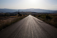 Bonefro: una strada provinciale
