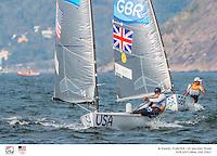 Finn USA Caleb Paine USACP65<br /> Finn GBR Giles Scott GBRGS20<br /> 2016 Olympic Games <br /> Rio de Janeiro