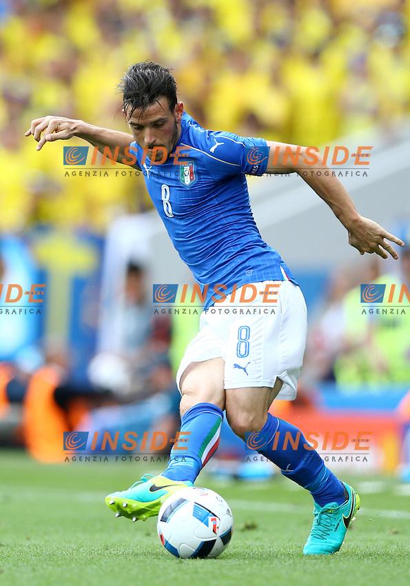 Alessandro Florenzi Italy<br />Toulouse 17-06-2016 Stade Velodrome Footballl Euro2016 Italy - Sweden  / Italia - Svezia Group Stage Group E. Foto Matteo Ciambelli / Insidefoto