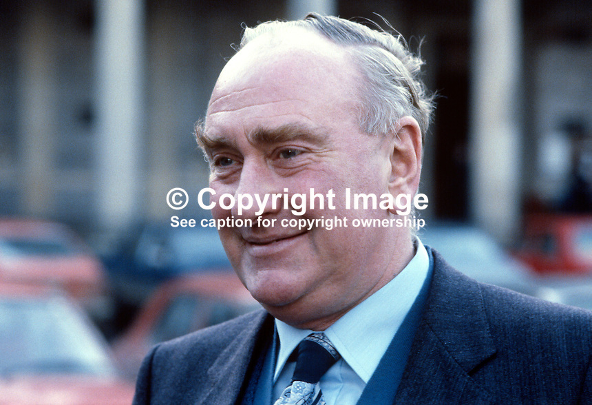 Patrick Donegan, Fine Gael TD, Co Louth, Rep of Ireland. Ref: 1989020036...Copyright Image from Victor Patterson, 54 Dorchester Park, Belfast, UK, BT9 6RJ..Tel: +44 28 9066 1296.Mob: +44 7802 353836.Voicemail +44 20 8816 7153.Skype: victorpattersonbelfast.Email: victorpatterson@mac.com.Email: victorpatterson@ireland.com (back-up)..IMPORTANT: If you wish to use this image or any other of my images please go to www.victorpatterson.com and click on the Terms & Conditions. Then contact me by email or phone with the reference number(s) of the image(s) concerned.