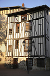 Traditional Housing, Limoges, Haute Vienne, France