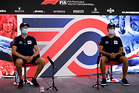 30th July 2020, Silverstone, Northampton, UK;  FIA Formula One World Championship 2020, Grand Prix of Great Britain, Daniil Kvyat RUS, Scuderia AlphaTauri Honda and Pierre Gasly FRA, Scuderia AlphaTauri Honda