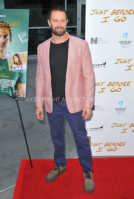 WWW.ACEPIXS.COM<br /> <br /> April 20 2015, LA<br /> <br /> Garret Dillahunt arriving at the Los Angeles special screening of 'Just Before I Go' at the ArcLight Hollywood on April 20, 2015 in Hollywood, California.<br /> <br /> By Line: Peter West/ACE Pictures<br /> <br /> <br /> ACE Pictures, Inc.<br /> tel: 646 769 0430<br /> Email: info@acepixs.com<br /> www.acepixs.com