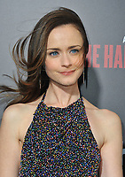 www.acepixs.com<br /> <br /> April 25 2017, LA<br /> <br /> Alexis Bledel arriving at the premiere of  'The Handmaid's Tale' at the ArcLight Cinemas Cinerama Dome on April 25, 2017 in Hollywood, California.<br /> <br /> By Line: Peter West/ACE Pictures<br /> <br /> <br /> ACE Pictures Inc<br /> Tel: 6467670430<br /> Email: info@acepixs.com<br /> www.acepixs.com