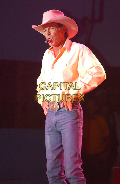 CHRIS LeDOUX.Performs at the 28th Annual Jamboree in the hills, Morristown, OH, USA, 17th July 2004..half length concert gig music.Ref: ADM.www.capitalpictures.com.sales@capitalpictures.com.©JN/AdMedia/Capital Pictures .