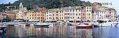 Tom Mackie, LANDSCAPES, panoramic, photos, Portofino, Liguria, Italy, GBTM200336-1,#L#