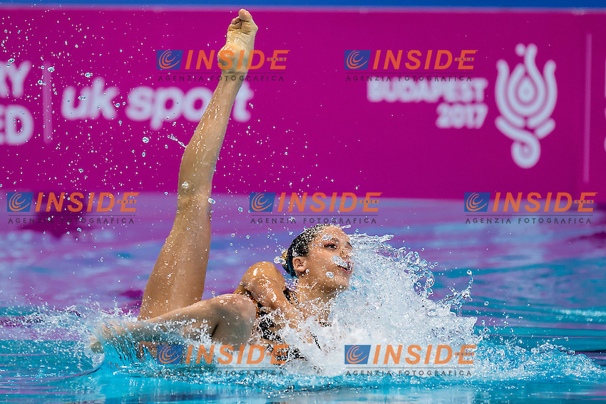 COSTA Barbara  POR VIEIRA Cheila  POR<br /> London, Queen Elizabeth II Olympic Park Pool <br /> LEN 2016 European Aquatics Elite Championships <br /> Synchronised Swimming Synchro Duet Tech<br /> Day 06 13-05-2016<br /> Photo Giorgio Scala/Deepbluemedia/Insidefoto