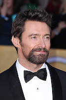 LOS ANGELES, CA - JANUARY 27: Hugh Jackman at The 19th Annual Screen Actors Guild Awards at the Los Angeles Shrine Exposition Center in Los Angeles, California. January 27, 2013. Credit: MediaPunch Inc.