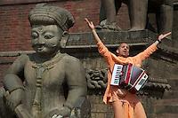 Hara Krishna at Bhaktapur Teples and Palace