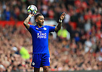 Danny Simpson of Leicester City  during the Premier League match at Old Trafford Stadium, Manchester. Picture date: September 24th, 2016. Pic Sportimage
