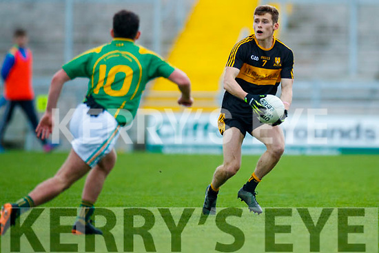 Gavin White Dr Crokes in action against  South Kerry in the Senior County Football Final in Austin Stack Park on Sunday