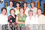 DANCE: Supporting the Benefit Dance in aid of Kirambi Health Centre, Rwanda, at the White Sands Hotel, Ballyheigue, on Saturday night. Front l-r: Alice Lawlor, Chris Murrane, Maureen Griffin, Kathleen O'Halloran and Kathleen Styles. Back l-r: Kathy Cantillon, Rita Stack, Ann O'Halloran and Marina Clifford..