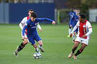 Valentino Livramento of Chelsea in action during Chelsea Under-19 vs AFC Ajax Under-19, UEFA Youth League Football at the Cobham Training Ground on 5th November 2019