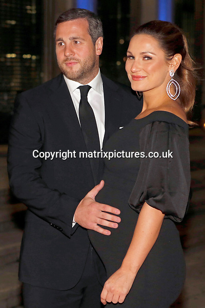 NON EXCLUSIVE PICTURE: MATRIXPICTURES.CO.UK<br /> PLEASE CREDIT ALL USES<br /> <br /> WORLD RIGHTS<br /> <br /> Paul Knightley and Sam Faiers are pictured as she attends the Britain's Got Talent Childline Ball at Old Billingsgate Market in London.<br /> <br /> SEPTEMBER 28th 2017<br /> <br /> REF: WBD 172253
