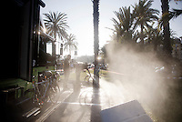 post-race cleaning<br /> <br /> 107th Milano-Sanremo 2016
