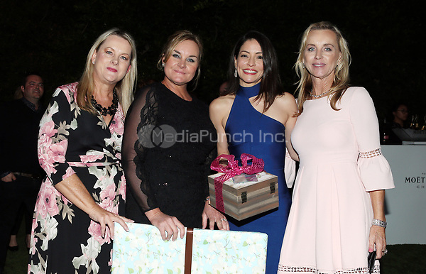 LOS ANGELES, CA - NOVEMBER 4: Emmanuelle Vaugier, Guests, at The 2017 Fluffball Benefiting Forgotten Horses Rescue! at The Lombardi House In Los Angeles, California on November 4, 2017. Credit: Faye Sadou/MediaPunch