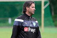 MARIENHOF - Voetbal, Trainingskamp FC Groningen , seizoen 2017-2018, 13-07-2017, FC Groningen trainer Ernest Faber