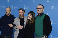 www.acepixs.com<br /> <br /> February 10 2017, Berlin<br /> <br /> (L-R) Jonny Lee Miller, Ewen Bremner, Anjela Nedyalkova and Danny Boyle at the 'T2 Trainspotting' photo call during the 67th Berlinale International Film Festival Berlin at Grand Hyatt Hotel on February 10, 2017 in Berlin, Germany.<br /> <br /> By Line: Famous/ACE Pictures<br /> <br /> <br /> ACE Pictures Inc<br /> Tel: 6467670430<br /> Email: info@acepixs.com<br /> www.acepixs.com