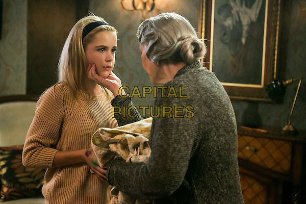 Flowers in the Attic (2014) (TV Movie)  <br /> Kiernan Shipka, Ellen Burstyn<br /> *Filmstill - Editorial Use Only*<br /> CAP/KFS<br /> Image supplied by Capital Pictures