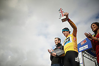 overall leader Bradley Wiggins (GBR) on stage<br /> <br /> 2013 Tour of Britain<br /> stage 4: Stoke-on-Trent to Llanberis (188km)