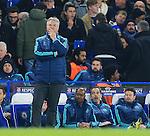Chelsea's Guus Hiddink looks on dejected<br /> <br /> - UEFA Champions League - Chelsea vs Paris Saint Germain - Stamford Bridge - London - England - 9th March 2016 - Pic David Klein/Sportimage
