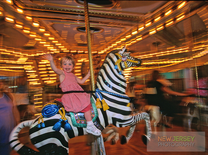 Merry Go Round, Summer Carnival, Ocean City, New Jersey