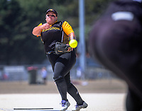 Wellington v Counties Manukau women. 2020 National Fastpitch softball Championships at Fraser Park in Lower Hutt, New Zealand on Friday, 14 February 2020. Photo: Dave Lintott / lintottphoto.co.nz