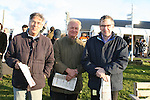Mike Quigley, Adrian Dart and Richard Williams at The Bellewstown Races...Photo NEWSFILE/Jenny Matthews.(Photo credit should read Jenny Matthews/NEWSFILE)....This Picture has been sent you under the condtions enclosed by:.Newsfile Ltd..The Studio,.Millmount Abbey,.Drogheda,.Co Meath..Ireland..Tel: +353(0)41-9871240.Fax: +353(0)41-9871260.GSM: +353(0)86-2500958.email: pictures@newsfile.ie.www.newsfile.ie.FTP: 193.120.102.198.