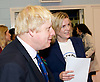 Boris Johnson <br /> Mayor of London <br /> visiting a boxing academy  - Fight For Peace in North Woolwich, London, Great Britain <br /> 28th October 2014 <br /> <br /> Boris Johnson <br /> mayor of London <br /> <br /> <br /> Photograph by Elliott Franks <br /> Image licensed to Elliott Franks Photography Services