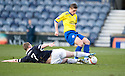 RAITH'S ALLAN WALKER CHALLENGES MORTON'S ROSS FORSYTH