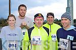 Nicole Payne, Aran Payne, Joe, Paul and Peter Shortt Killorglin on the run Jingle Run in Killorglin on Saturday.