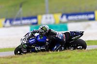 2nd November 2019; Sepang Circuit, Sepang Malaysia; MotoGP Malaysia, Qualifying Day;  The number 12 Monster Energy Yamaha rider Maverick Vinales during practice 3 - Editorial Use