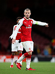 Arsenal's Jack Wilshere in action during the Europa League Group H match at The Emirates Stadium, London. Picture date: December 7th 2017. Picture credit should read: David Klein/Sportimage