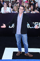 """WESTWOOD, LOS ANGELES, CA, USA - MARCH 18: Joshua Malina at the World Premiere Of Summit Entertainment's """"Divergent"""" held at the Regency Bruin Theatre on March 18, 2014 in Westwood, Los Angeles, California, United States. (Photo by David Acosta/Celebrity Monitor)"""