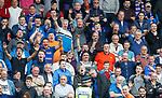 Rangers fans taunting Scott Fox