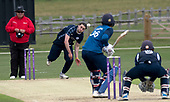 Cricket Scotland - Scotland V Sri Lanka at Kent County cricket ground at Benkenham, in the first of two matches on Sunday (today and Tuesday) - Dylan Budge - picture by Donald MacLeod - 21.05.2017 - 07702 319 738 - clanmacleod@btinternet.com - www.donald-macleod.com